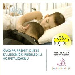 Kako pripremiti dijete za liječnički pregled ili hospitalizaciju