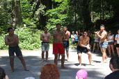 Gosti na kampu _haka